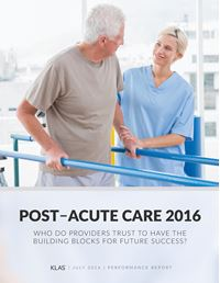 Post-Acute Care Performance 2016