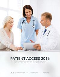Patient Access 2016