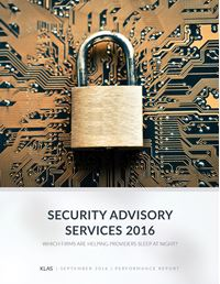 Security Advisory Services 2016