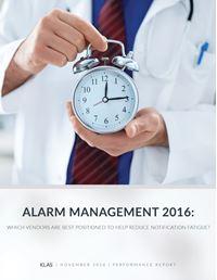 Alarm Management 2016