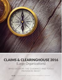 Claims and Clearinghouse 2016 (Large Organizations)