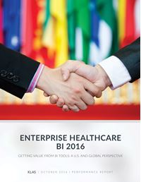 Enterprise Healthcare BI 2016
