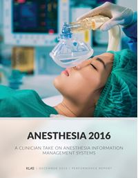 Anesthesia Performance 2016