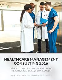 Healthcare Management Consulting 2016