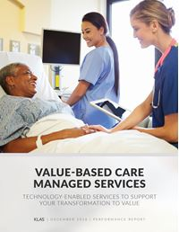 Value-Based Care Managed Services 2016