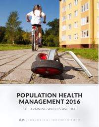 Population Health report cover image