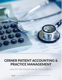 Cerner Patient Accounting & Practice Management 2016