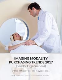 Imaging Modality Purchasing Trends 2017 (Smaller Organizations)