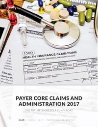 Payer Core Claims and Administration 2017