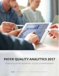 Payer Quality Analytics 2017