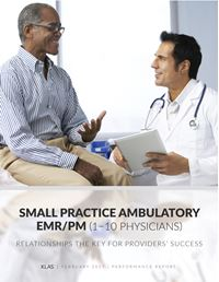 Small Practice Ambulatory EMR/PM (1–10 Physicians) 2017
