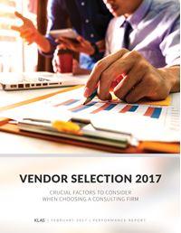 Vendor Selection 2017