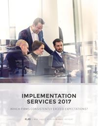 Implementation Services 2017