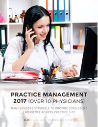 Practice Management 2017 (Over 10 Physicians)