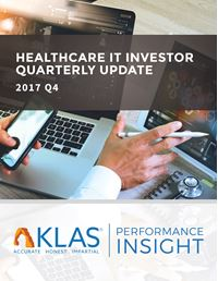 Healthcare IT Investor Update 2017 Q4