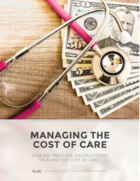 Managing the Cost of Care