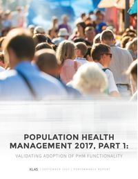 Population Health Management 2017, Part 1