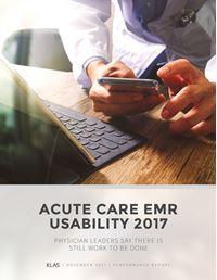 Acute EMR Usability 2017