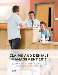 Claims and Denials Management 2017