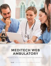 MEDITECH Web Ambulatory