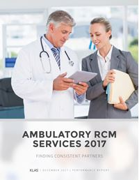 Ambulatory RCM Services 2017