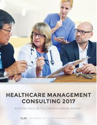 Healthcare Management Consulting 2017