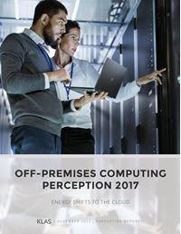 Off-Premises Computing Perception 2017