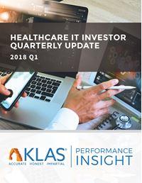 Healthcare IT Investor Update 2018 Q1