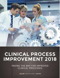 Clinical Process Improvement 2018