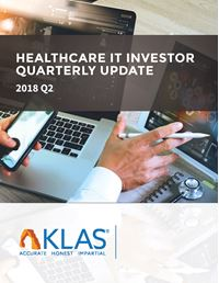 Healthcare IT Investor Update 2018 Q2