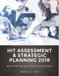 HIT Assessment & Strategic Planning 2018