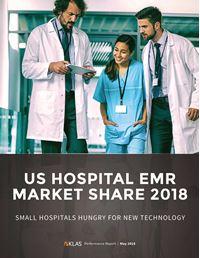 US Hospital EMR Market Share 2018