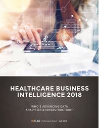 Healthcare Business Intelligence 2018