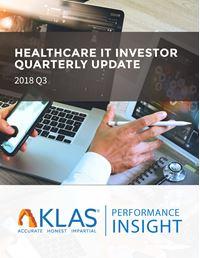 Healthcare IT Investor Update 2018 Q3