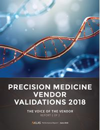 Precision Medicine Vendor Validations 2018