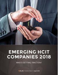 Emerging HCIT Companies 2018