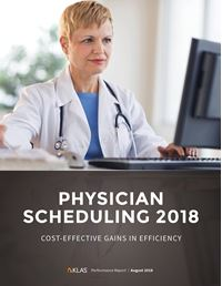Physician Scheduling 2018