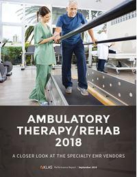 Ambulatory Therapy / Rehab 2018