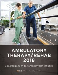 Ambulatory Therapy/Rehab 2018