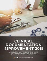 Clinical Documentation Improvement (CDI) 2018