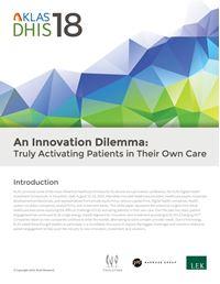 DHIS 2018—An Innovation Dilemma