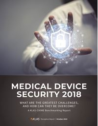 Medical Device Security CHIME Edition 2018
