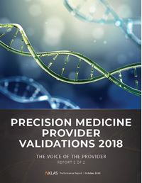 Precision Medicine Provider Validations 2018