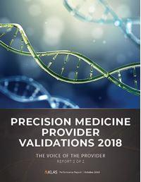 Precision Medicine Provider Validations 2018
