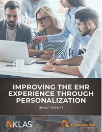 Improving the EHR Experience Through Personalization