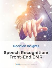 Speech Recognition—Front-End EMR 2018