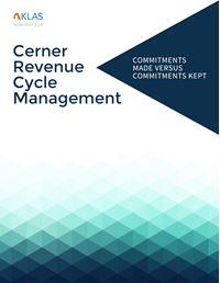 Cerner Revenue Cycle Management, Report 1 of 4