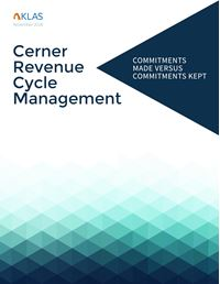 Cerner Revenue Cycle Management, Report 1 of 4