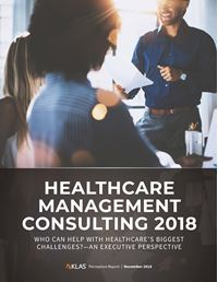 Healthcare Management Consulting 2018