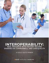 Interoperability End of Year Progress 2018